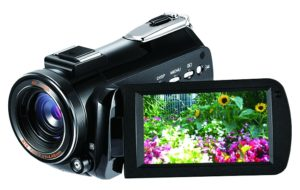 『4K ビデオカメラ DV-AC3-BK