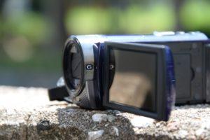 ホームビデオ用カメラ